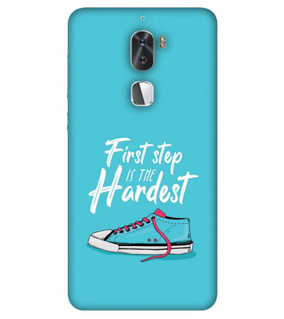 First Step is Hardest Back Cover for Coolpad Cool 1