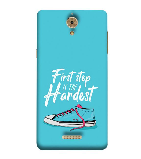 First Step is Hardest Back Cover for Coolpad Mega 2.5D