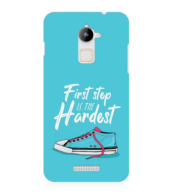 First Step is Hardest Back Cover for Coolpad Note 3 Lite