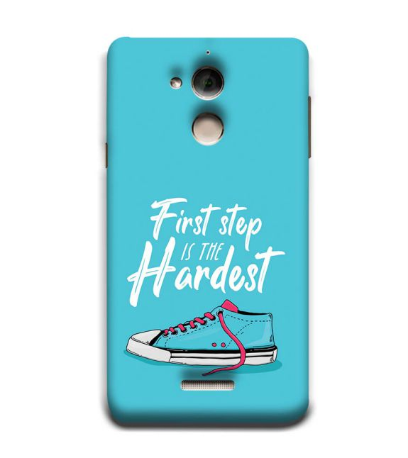 First Step is Hardest Back Cover for Coolpad Note 5