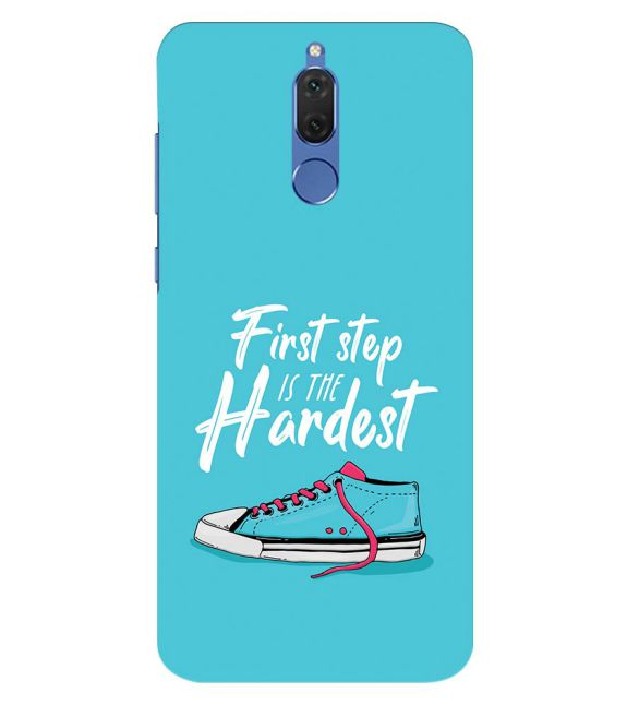 First Step is Hardest Back Cover for Honor 10 Lite