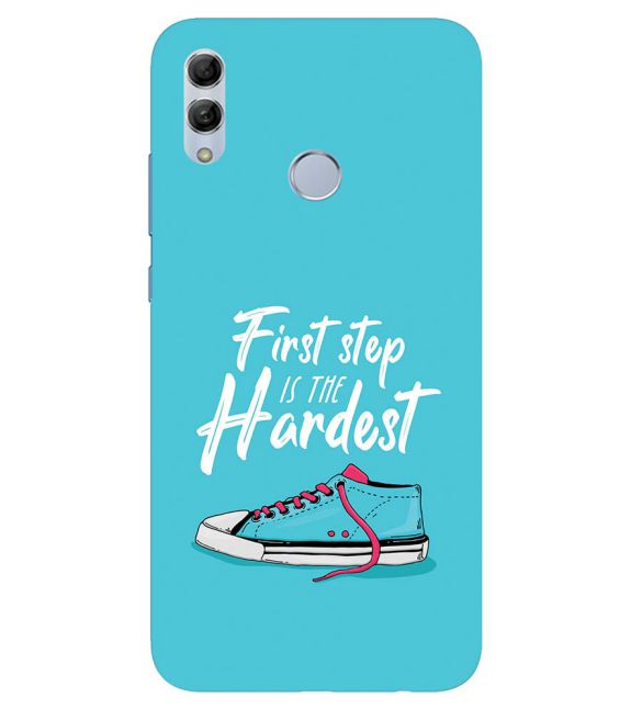 First Step is Hardest Back Cover for Honor 20 Lite
