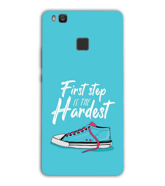 First Step is Hardest Back Cover for Huawei Honor 8 Smart