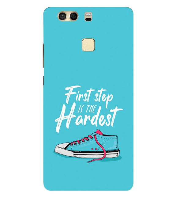 First Step is Hardest Back Cover for Huawei P9