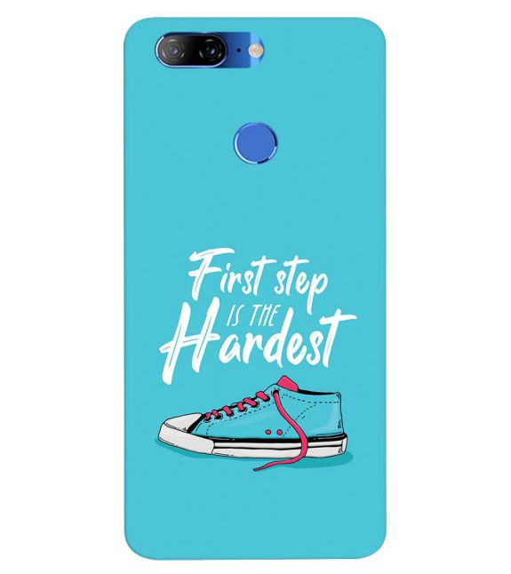 First Step is Hardest Back Cover for Lenovo K9