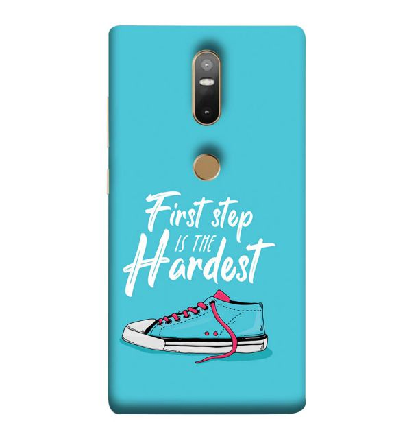 First Step is Hardest Back Cover for Lenovo Phab 2 Plus