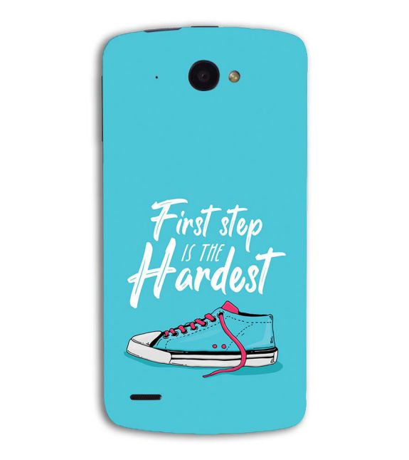 First Step is Hardest Back Cover for Lenovo S920