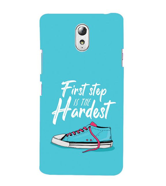 First Step is Hardest Back Cover for Lenovo Vibe P1M