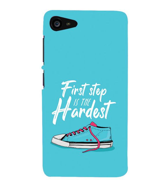 First Step is Hardest Back Cover for Lenovo ZUK Z2