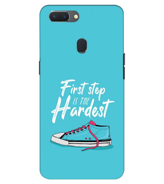 First Step is Hardest Back Cover for Oppo Realme 2