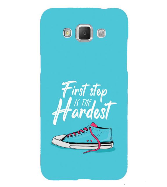 First Step is Hardest Back Cover for Samsung Galaxy Grand Max G720