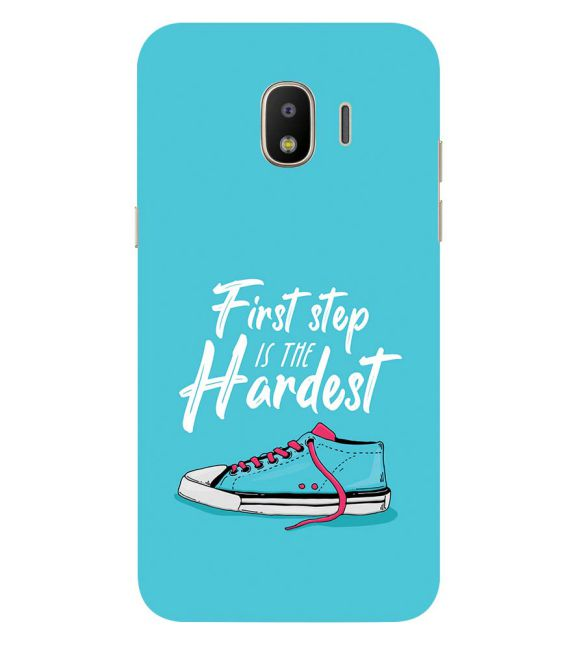 First Step is Hardest Back Cover for Samsung Galaxy J2 (2018)