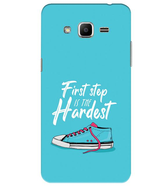 First Step is Hardest Back Cover for Samsung Galaxy J2 Ace