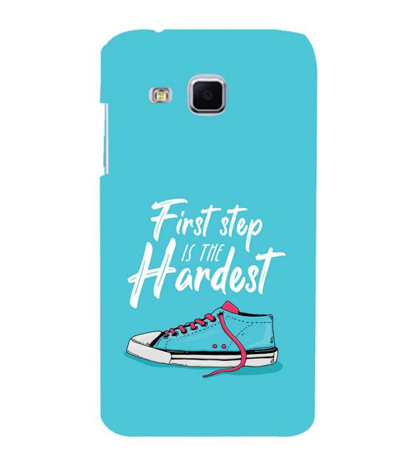 First Step is Hardest Back Cover for Samsung Galaxy J3