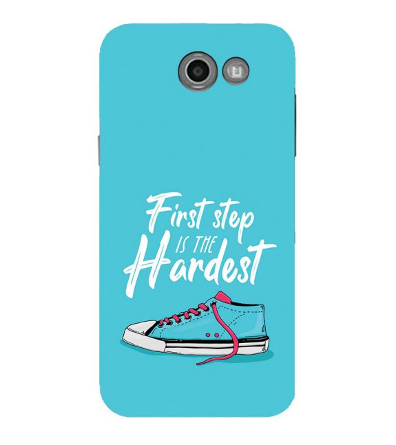 First Step is Hardest Back Cover for Samsung Galaxy J7 (2017)