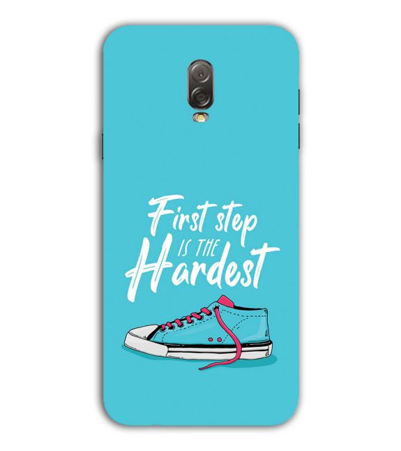First Step is Hardest Back Cover for Samsung Galaxy J7 Plus