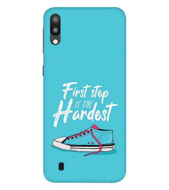 First Step is Hardest Back Cover for Samsung Galaxy M10