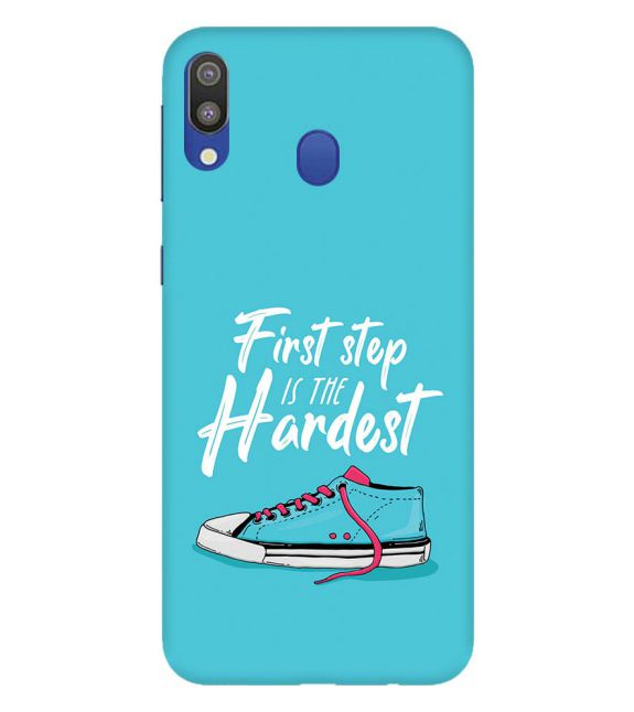 First Step is Hardest Back Cover for Samsung Galaxy M20