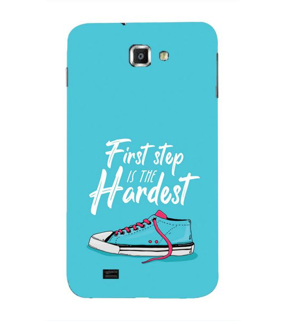 First Step is Hardest Back Cover for Samsung Galaxy Note N7000