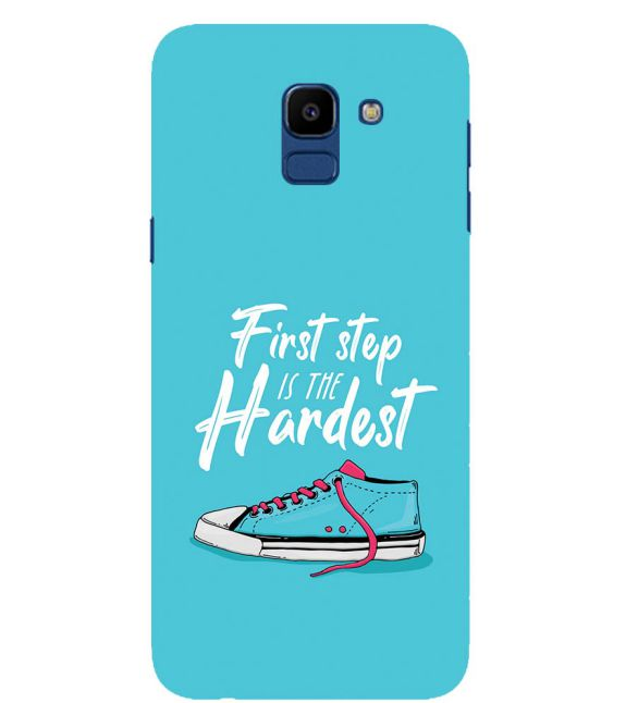 First Step is Hardest Back Cover for Samsung Galaxy On6