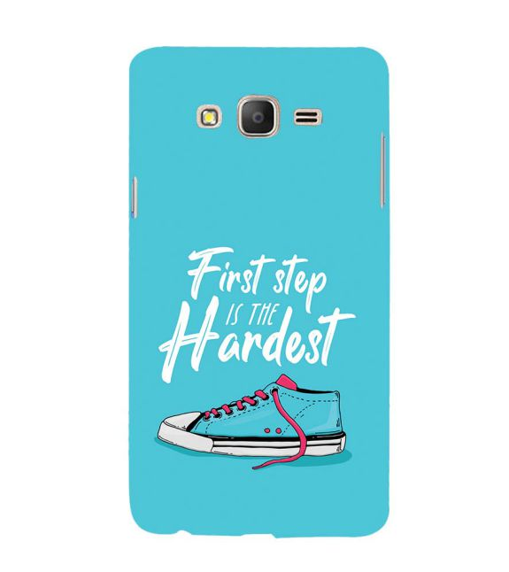 First Step is Hardest Back Cover for Samsung Galaxy On7 and On 7 Pro