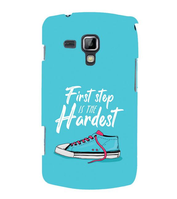First Step is Hardest Back Cover for Samsung Galaxy S Duos and S Duos 2