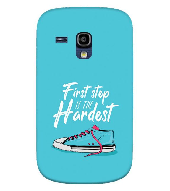 First Step is Hardest Back Cover for Samsung Galaxy S3 Mini