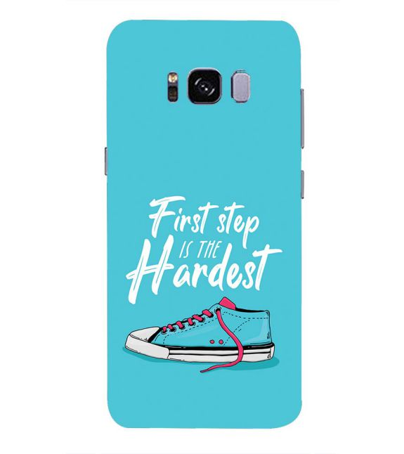 First Step is Hardest Back Cover for Samsung Galaxy S8