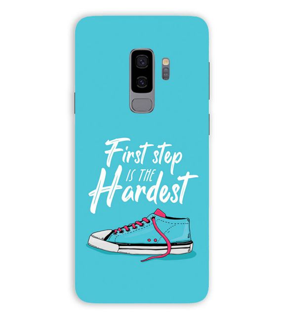 First Step is Hardest Back Cover for Samsung Galaxy S9+ (Plus)