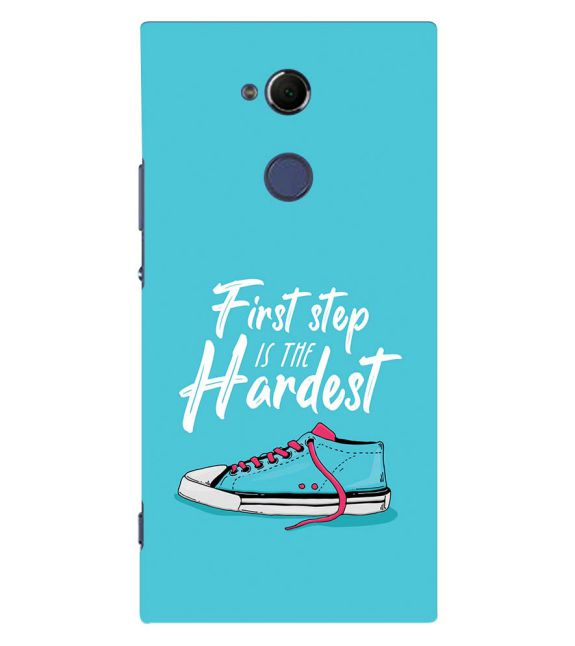 First Step is Hardest Back Cover for Sony Xperia XA2 Ultra