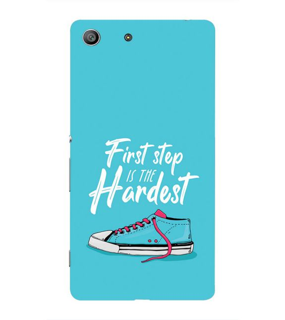 First Step is Hardest Back Cover for Sony Xperia Z3