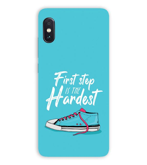 First Step is Hardest Back Cover for Vivo NEX S