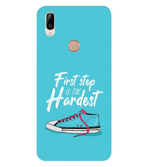 First Step is Hardest Back Cover for Vivo Y83 Pro