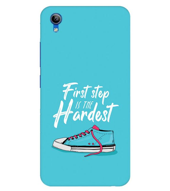 First Step is Hardest Back Cover for Vivo Y91i