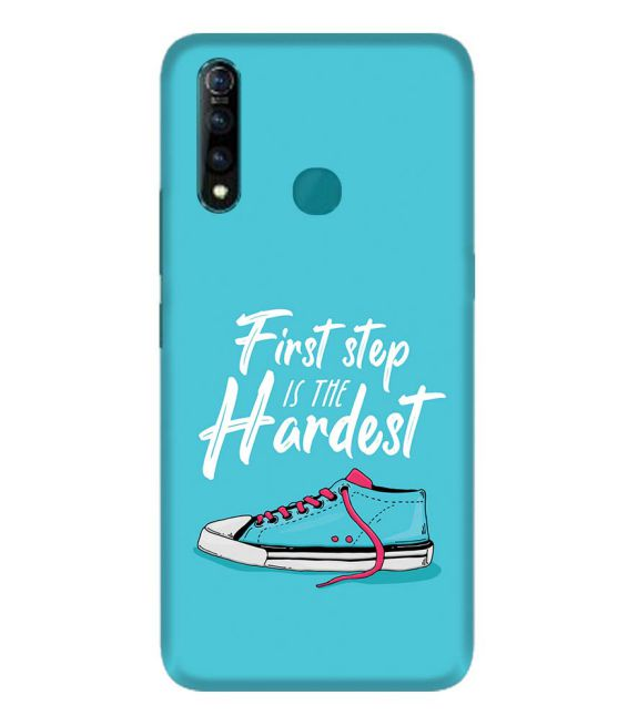 First Step is Hardest Back Cover for Vivo Z1 Pro
