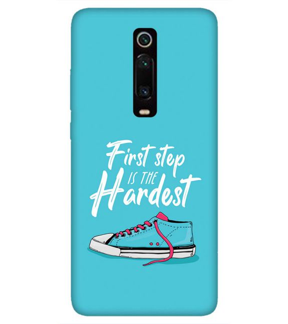 First Step is Hardest Back Cover for Xiaomi Redmi K20 and K20 Pro