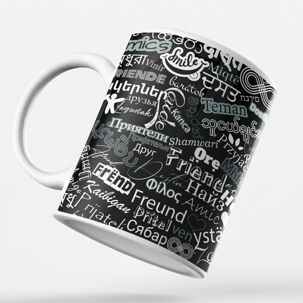 Friend in All Languages Coffee Mug