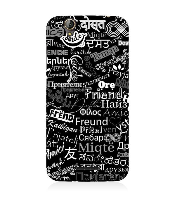 Friend in All Languages Back Cover for Acer Liquid Zade 630