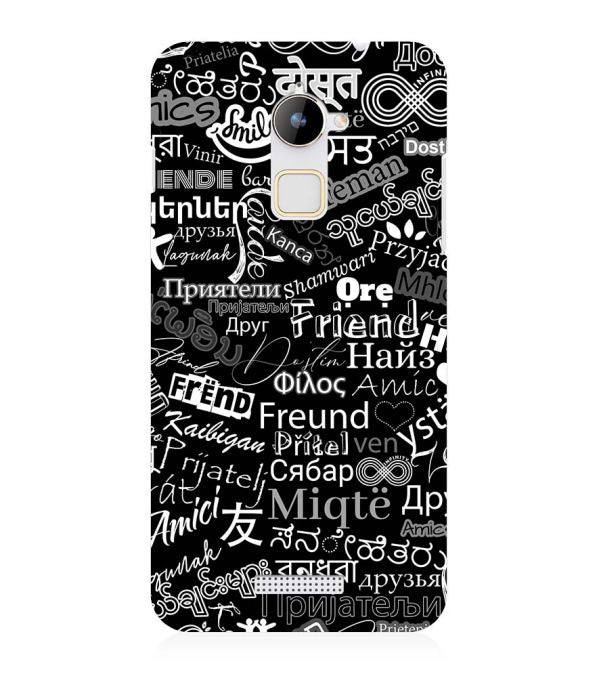 Friend in All Languages Back Cover for Coolpad Note 3 Lite