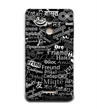 Friend in All Languages Back Cover for Coolpad Note 5