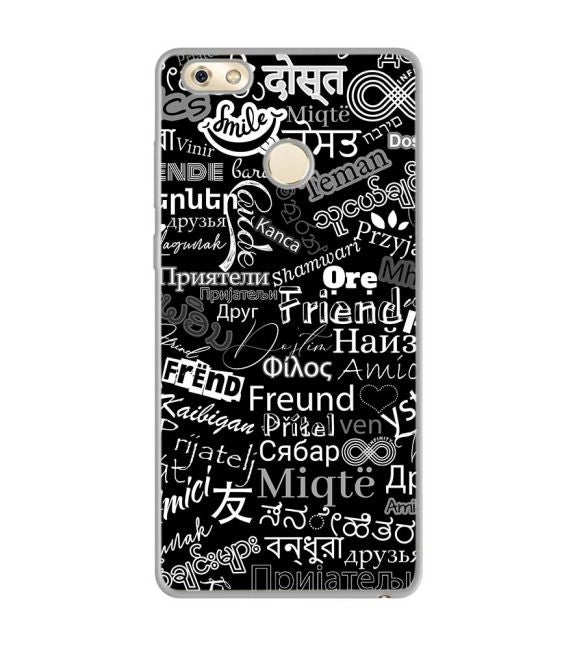 Friend in All Languages Back Cover for Gionee M7 Power