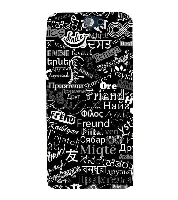 Friend in All Languages Back Cover for HTC One A9