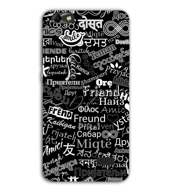 Friend in All Languages Back Cover for Huawei Honor 4C