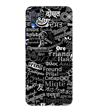 Friend in All Languages Back Cover for Huawei Nova 3