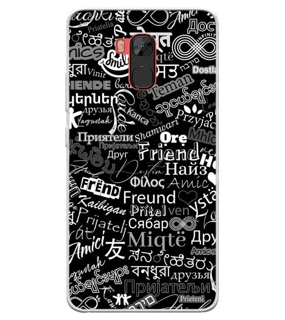 Friend in All Languages Back Cover for Infinix Note 5 Stylus
