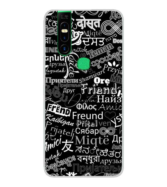Friend in All Languages Back Cover for Infinix S5 Pro