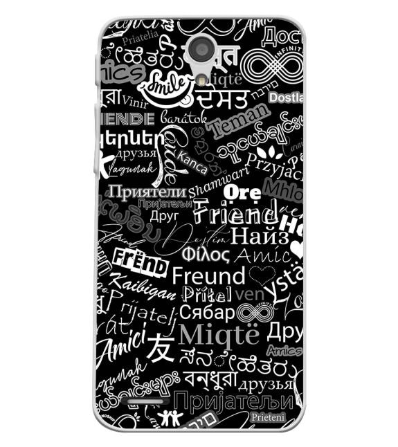 Friend in All Languages Back Cover for InFocus M260