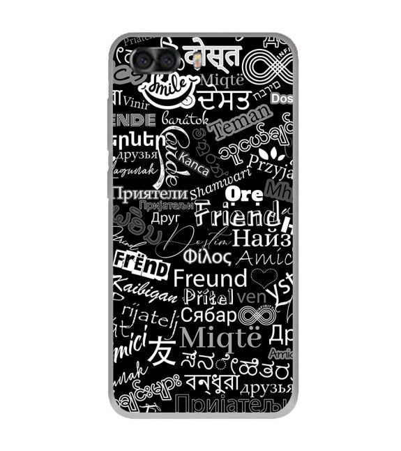 Friend in All Languages Back Cover for InFocus Turbo 5 Plus