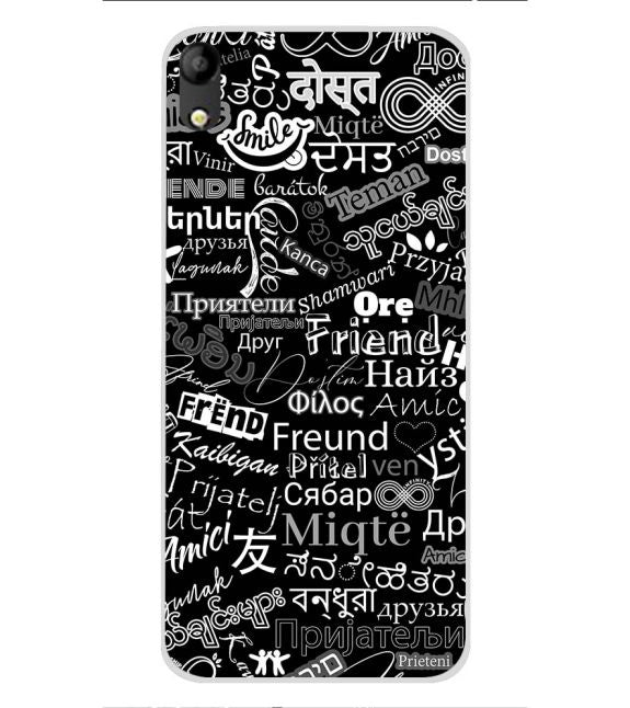 Friend in All Languages Back Cover for Mobistar C1