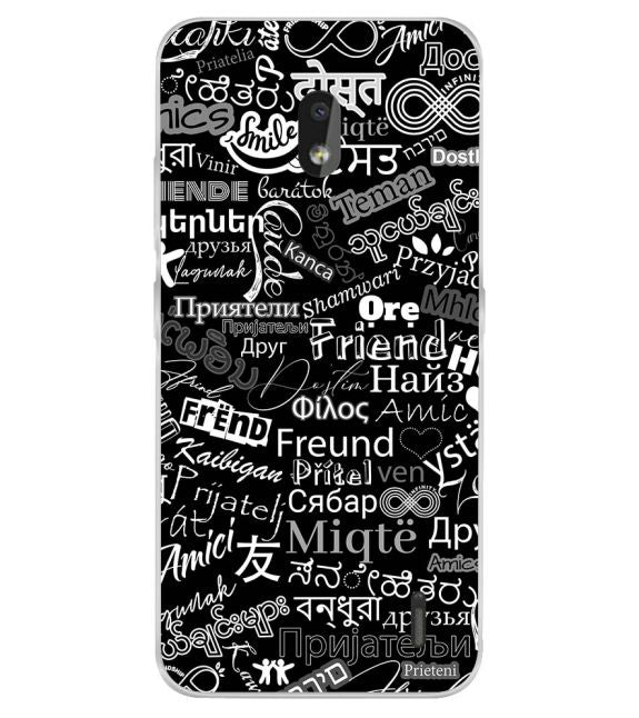 Friend in All Languages Back Cover for Nokia 2.2